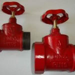 Клапан чугунный пожарный проходной