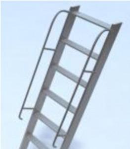Лестница с перилами Л-15
